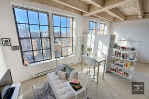 Whole apartment with afternoon light