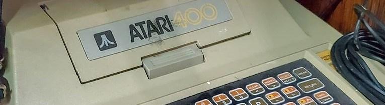 Thrift Storing it Atari 400