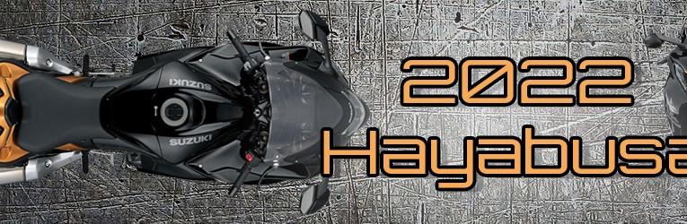 Suzuki Hayabusa 2022 Gen3