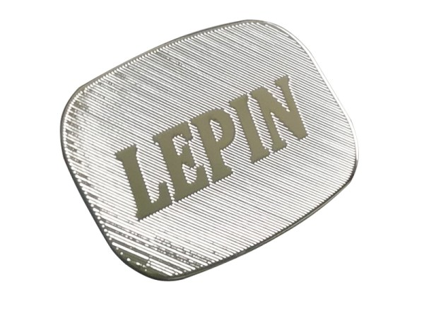 134 - Custom made durable high quality etched logo label printing stainless steel stickers plate label for machine