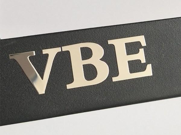 21 - Custom electroforming nickel sticker embossed logo stickers glossy metal label sticker for phone case