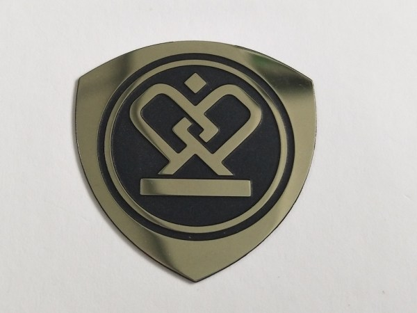 stainless steel metal sticker 36 - Customized stainless steel etched metal label steel sticker metal nameplate