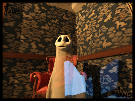 Animation du fantôme