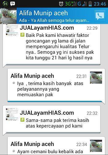Testimonial Bapak Alifa Munip dari Aceh