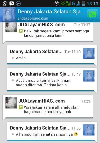 Testimonial Bapak Denny Jakarta