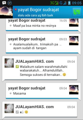 Testimonial Bapak Yayat Bogor