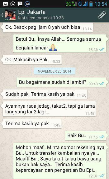Testimonial dari Ibu Epi Jakarta