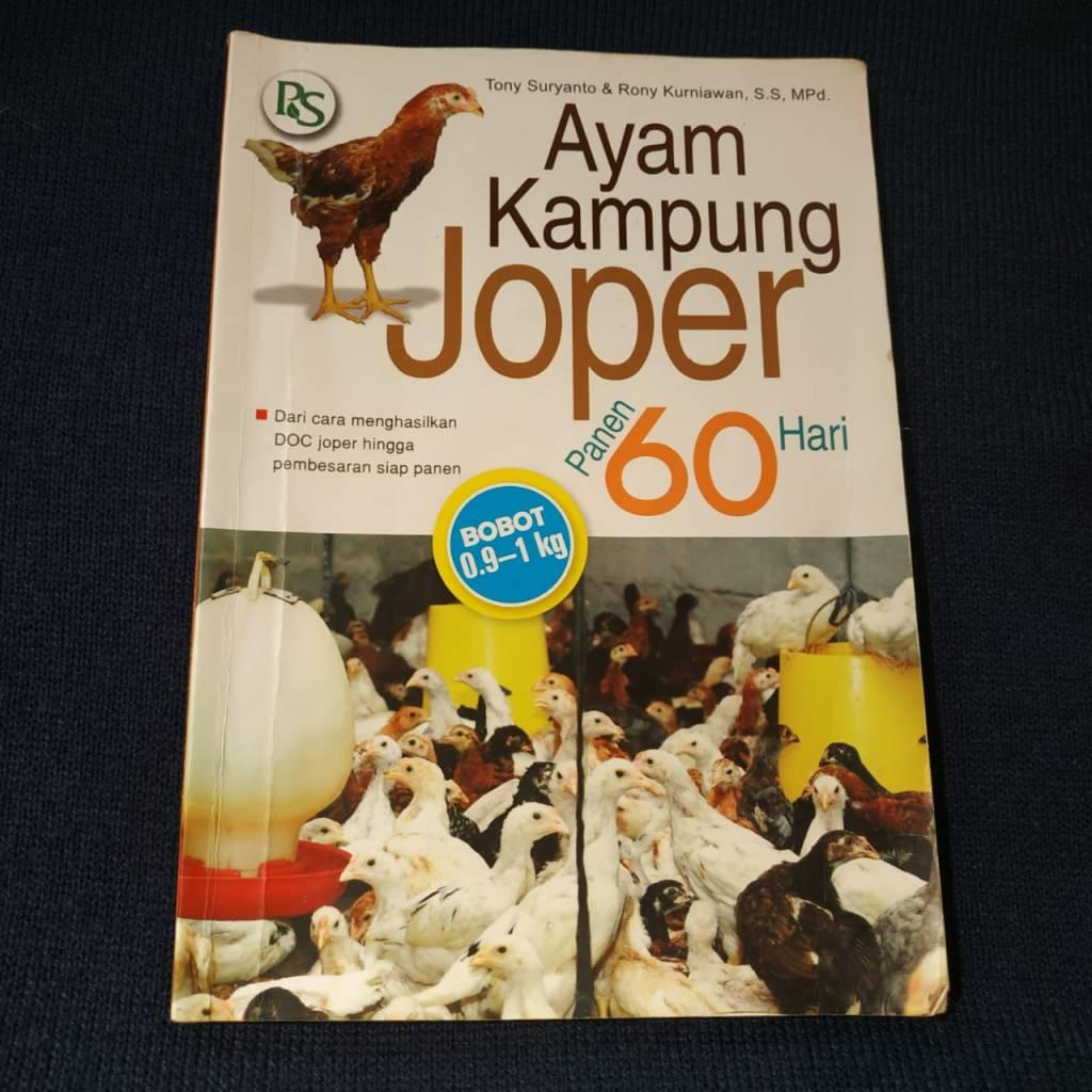Buku Ayam Kampung Joper Panen 60 Hari
