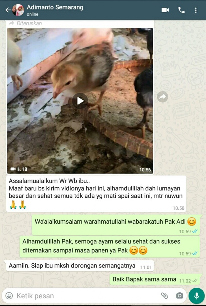 Testimoni Pak Adimanto Semarang