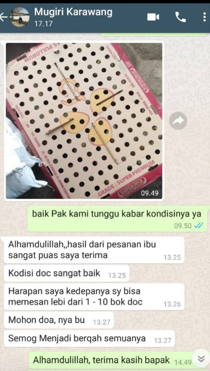 Testimoni Pak Mugiri Karawang