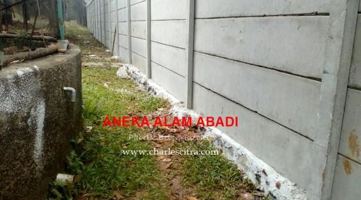 pagar beton proyek