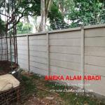 pagar beton minimalis