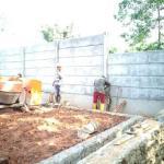 pondasi pagar beton