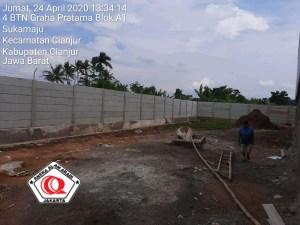 pekerjaan pagar beton