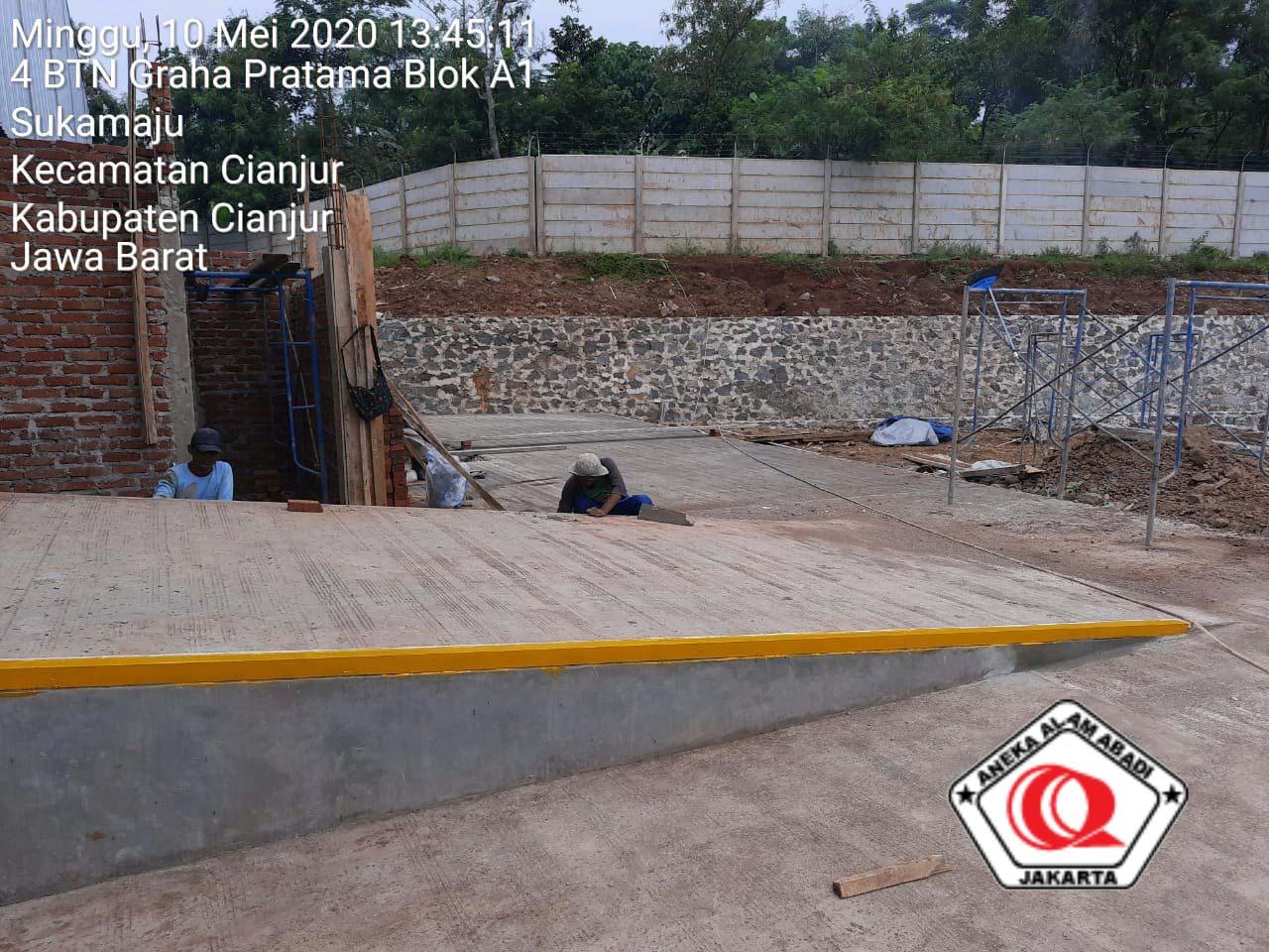 pekerjaan pagar beton cianjur