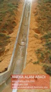 gravel buis beton belah