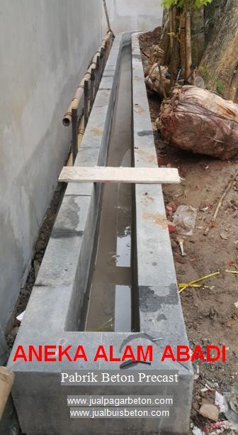 saluran buis beton belah
