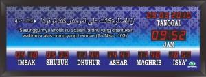 Jual jam digital masjid murah di bekasi pusat