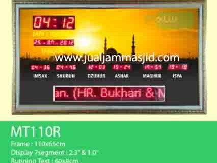 jual jam jadwal sholat digital masjid murah di grand wisata bekasi