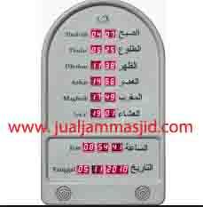 jual jam jadwal sholat digital masjid murah di karawang utara