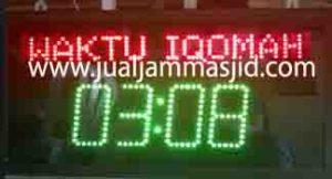 jual jam jadwal sholat digital masjid murah di cianjur jawa barat