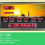 jual jam jadwal sholat digital masjid running text di pulo gadung jakarta