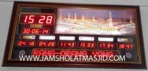 harga jam digital masjid di jakarta timur