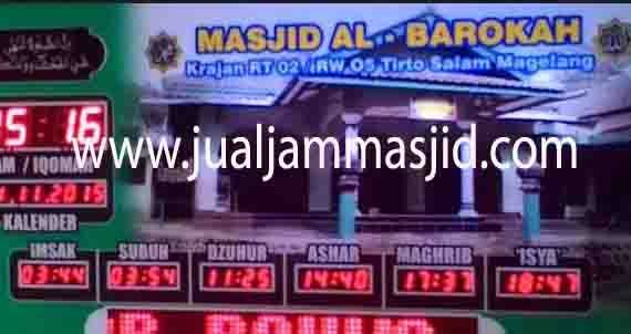 harga jam digital masjid di tangerang selatan