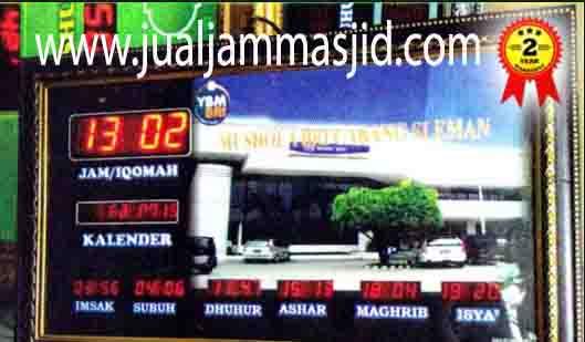 penjual jam jadwal sholat digital masjid running text di jakarta pusat