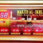 penjual jam jadwal sholat digital masjid running text di jakarta utara