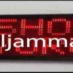 penjual jam jadwal sholat digital masjid running text di cibitung pusat