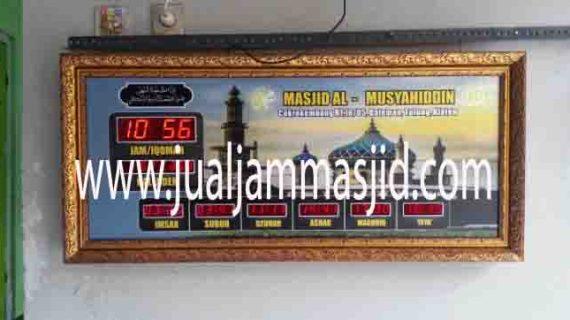 penjual jam jadwal sholat digital masjid running text di cibitung selatan