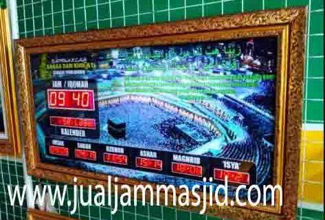 penjual jam jadwal sholat digital masjid running text di karawang pusat