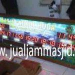 penjual jam jadwal sholat digital masjid running text di cikiwul bekasi
