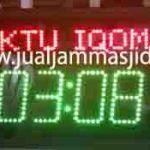 penjual jam jadwal sholat digital masjid running text di pekanbaru utara