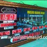 penjual jam jadwal sholat digital masjid running text di semarang utara