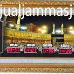 penjual jam jadwal sholat digital masjid running text di Jatiluhur bekasi