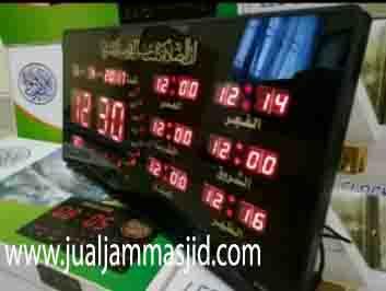 penjual jam jadwal sholat digital masjid running text di Kayuringin Jaya bekasi