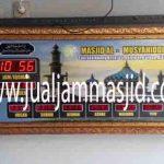 penjual jam jadwal sholat digital masjid running text di Aren Jaya bekasi