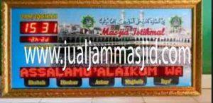 penjual jam jadwal sholat digital masjid running text di Bojong Menteng bekasi