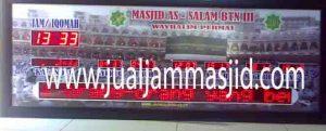 penjual jam jadwal sholat digital masjid running text di Medan Satria Bekasi