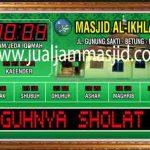 jual jam dinding digital untuk masjid di bekasi