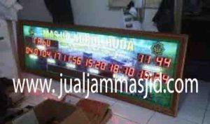 jual jam dinding digital untuk masjid di tangerang pusat