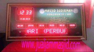 beli jam digital masjid di bekasi timur