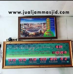 menjual jam jadwal sholat digital masjid running text di Kranji Bekasi