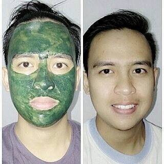 Jual Masker herbal Spirulina TIENS herbal Bobong