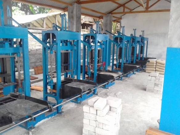 Jual mesin paving blok manual Banjarmasin