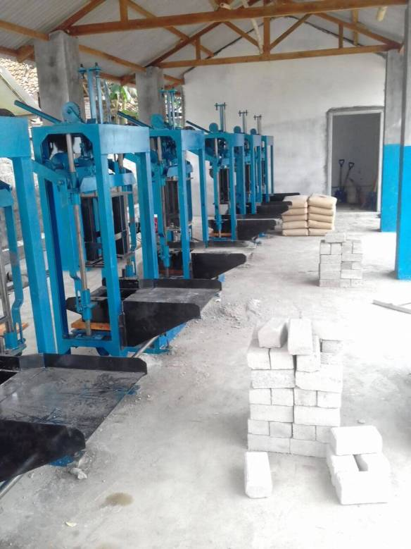 Jual mesin paving block manual di Palembang