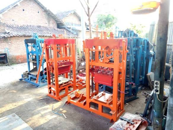 Jual mesin press batako