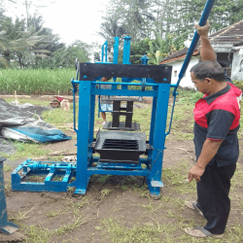 Jual mesin press batako manual